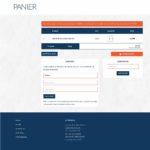 Site-Ecommerce-Panier