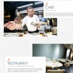 Site-Ecommerce-le chef-Restaurant